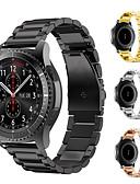 ราคาถูก วง Smartwatch-นาฬิกาวงสำหรับ huami amazfit stratos smart watch 2/2 s / เกียร์ s2 คลาสสิก / เกียร์ s3 คลาสสิก samsung galaxy คลาสสิกหัวเข็มขัดโลหะสายรัดข้อมือ