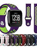 povoljno Maske za mobitele-Pogledajte Band za Fitbit Versa / Fitbit Versa Lite Fitbit Sportski remen Silikon Traka za ruku