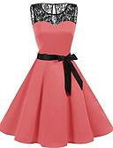 Χαμηλού Κόστους Ρομαντική Δαντέλα-γυναικείο φόρεμα πουκάμισο πουκάμισο ροζ κόκκινο μπλε s m l xl