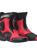 baratos Relógio Esportivo-Homens motociclismo sapatos de corrida de couro botas de moto de equitação moto motocross off-road moto botas sapato