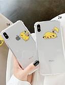 povoljno Zaštitne folije za iPhone-kutija za jabuka iphone xr / iphone xs max uzorak / prozirna / otporna na udarce stražnja korica crtani film meki tpu za 6 6 plus 6s 6splus 7 8 7plus 8plus x xs