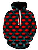 Χαμηλού Κόστους Αντρικές Μπλούζες με Κουκούλα & Φούτερ-Ανδρικά Βασικό Φούτερ με Κουκούλα - 3D