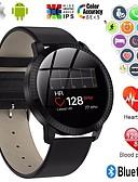 povoljno Vjenčanja i eventi-a18 nehrđajući čelik smartwatch bt fitness tracker podrška obavijesti / mjerenje krvnog tlaka sportski pametni sat za samsung / iphone / android telefone