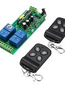 billige Andre kabler-smart switch ak-rk04s-220 + ak-hd04 for stue / soverom / daglig kreativ / multifunksjon / enkel å installere trådløs fjernkontroll 220 v / 170-240 v / 100-240 v