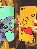 baratos Capinhas para iPhone-Capinha Para Apple iPhone XS / iPhone XR / iPhone XS Max Estampada Capa traseira Desenho Animado Rígida Vidro Temperado