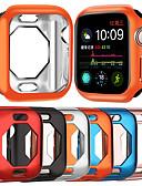 billige Samsung-tilbehør-Etuier for Apple Watch Series 4 tpu kompatibilitet Apple Innovative Åttekantet TPU Hule Plating Case Beskyttelseshylse