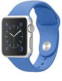 baratos Bandas de Smartwatch-faixa de esporte para apple pulseira de relógio 44mm / 40mm / 38mm / 42mm pulseira de silicone pulseira para apple watch 4/3/2/1
