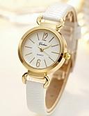 baratos Relógios-Mulheres Relógio Elegante Quartzo Adorável Analógico Minimalista - Branco Preto Vermelho / Aço Inoxidável