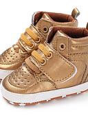 זול אוברולים טריים לתינוקות לבנים-בנים / בנות צעדים ראשונים PU מגפיים תינוקות (0-9m) / פעוט (9m-4ys) זהב / לבן / שחור סתיו / חורף