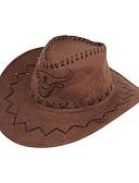 Χαμηλού Κόστους Men's Hats-Ανδρικά Ριγέ Βασικό Ντένιμ Καπελίνα Καλοκαίρι Χακί