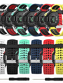 baratos Bandas de Smartwatch-faixa de relógio macia da substituição do silicone para o forerunner de garmin 235/220/230/620/630/735 relógio esperto