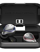זול מטען כבלים ומתאמים-אוזניות Bluetooth 5.0 באוזניות אלחוטיות עם אוזניות סטריאו באס סטריאו באוזניות סטריאו באייפונים ipx7 עמידות למים