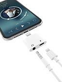 זול Smartwws הרכבות & מחזיקי-2 ב 1 אוזניות מוזיקה תשלום תאורה 3.5mm אודיו מתאם כבל עבור