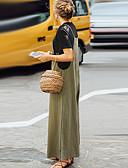 billige Tights til damer-Dame Gatemote Store størrelser Løstsittende Bred Bukseben / Chinos Bukser - Ensfarget Klassisk Høy Midje Bomull Svart Navyblå Militærgrønn XXXL XXXXL XXXXXL