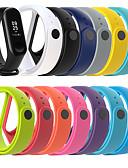 billige Smartwatch Bands-silikon armbånd stropp armbånd armbånd for xiaomi mi band 4 / mi band 3