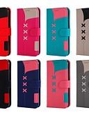 ราคาถูก เสื้อเชิ้ตสำหรับสุภาพสตรี-Case สำหรับ apple iphone xr / iphone xs max แม่เหล็ก / พร้อมขาตั้ง / กันกระแทกร่างกายเต็มรูปแบบกรณีเรขาคณิตแบบฮาร์ดหนัง pu สำหรับ iphone x / xs / 8 บวก / 8/7 บวก / 7/6/6 วินาทีบวก