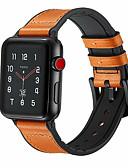 ราคาถูก วง Smartwatch-หนังแท้ห่วงสายนาฬิกาสำหรับแอปเปิ้ลดูวง 44 มิลลิเมตร / 40 มิลลิเมตร / 42 มิลลิเมตร / 38 มิลลิเมตรสำหรับ iw atch วงกีฬาหัวเข็มขัด 1/2/3/4