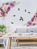 billige Dresser-blomstrende blomster vegg klistremerker - ord&ampamp citerer vegg klistremerker tegn studere rom / kontor / spisestue / kjøkken