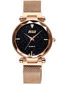 זול שעונים-בגדי ריקוד נשים שעון מכני קווארץ עמיד במים אנלוגי אופנתי - סגול כחול זהב ורד
