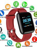 זול Smartwws הרכבות & מחזיקי-D13S גברים חכמים שעונים Android iOS Blootooth עמיד במים מסך מגע מוניטור קצב לב מודד לחץ דם ספורטיבי מד צעדים מזכיר שיחות מד פעילות מעקב שינה מצאו את המכשירשלי