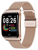 ราคาถูก ชุดเซ็กซี่-f9 smartwatch สแตนเลส bt ติดตามการออกกำลังกายสนับสนุนแจ้งเตือน & h eart rate monitor เข้ากันได้ apple / samsung / android โทรศัพท์