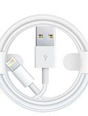 זול מטען כבלים ומתאמים-תאורה כבל 1.0m (3ft) תשלום מהיר TPE מתאם כבל USB עבור iPhone