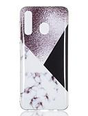 זול מגנים לטלפון-מגן עבור Samsung Galaxy A6 (2018) / A6+ (2018) / A3 (2017) IMD / שקיפות כיסוי אחורי שיש רך TPU