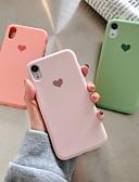 povoljno iPhone maske-Θήκη Za Apple iPhone XR / iPhone XS Max / iPhone X Uzorak Stražnja maska Srce Mekano silika gel