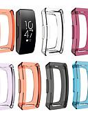 baratos Bandas de Smartwatch-Capinha Para Fitbit Fitbit Inspire HR / Fitbit Inspire Silicone Fitbit