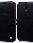 povoljno Samsung oprema-Θήκη Za Samsung Galaxy J5 (2017) Utor za kartice / Zaokret Korice Jednobojni Tvrdo PU koža