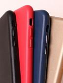 זול מגנים לאייפון-מגן עבור Apple iPhone XS Max / iPhone 6 עמיד בזעזועים כיסוי אחורי אחיד קשיח עור אמיתי ל iPhone XS / iPhone XR / iPhone XS Max