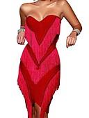 Χαμηλού Κόστους Φορέματα NYE-Γυναικεία Βασικό Γραμμή Α Φόρεμα Ως το Γόνατο