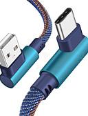 זול מטען כבלים ומתאמים-סוג c כבל נתונים מטען עבור Samsung s8 / s9 / הערה 9/8 / xiaomi mi 8 / mi 6