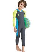 povoljno Kompletići za dječake-Djeca Dječaci Color block Kupaći kostim Sive boje
