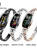 ราคาถูก นาฬิกาดิจิตอลสตรี-สำหรับผู้หญิง นาฬิกาดิจิตอล ดิจิตอล กีฬา ดำ / เงิน / ทอง 30 m กันน้ำ Bluetooth Smart ดิจิตอล ภายนอก - สีทอง สีดำ สีเงิน