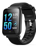 baratos Smart watch-Relógio inteligente Digital Estilo Moderno Esportivo Silicone 30 m Impermeável Monitor de Batimento Cardíaco Bluetooth Digital Casual Ao ar Livre - Preto Roxo Azul