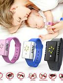 זול להקות Smartwatch-שעון דיגיטלי נייד יתוש דוחה צמיד