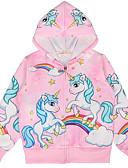 povoljno Majice za djevojčice-Djeca Djevojčice Osnovni Print Dugih rukava Bluza Blushing Pink