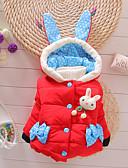 povoljno Vanjska odjeća za bebe-Dijete Djevojčice Osnovni Print Print Odijelo i sako Red