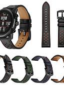 ราคาถูก วง Smartwatch-สายนาฬิกา สำหรับ นาฬิกา Huami Amazfit Pace / Huami Amazfit Stratos Smart Watch 2/2S Xiaomi สายยางสำหรับเส้นกีฬา หนังแท้ สายห้อยข้อมือ