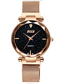 זול שעונים-בגדי ריקוד נשים שעוני שמלה אוטומטי נמתח לבד עמיד במים אנלוגי קלסי - סגול כחול מוזהב