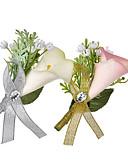 billige Kigurumi-Herre Dame Nåler Klassisk Blomst Mote Brosje Smykker Hvit / Hvit Lys Rosa Til Bryllup Fest