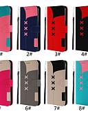 baratos Capinhas para Xiaomi-Capinha Para Xiaomi Nota do Redmi 7 / Redmi Note 6 Pro Carteira / Porta-Cartão / Flip Capa Proteção Completa Sólido Rígida PU Leather