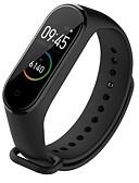 baratos Bandas de Smartwatch-Pulseiras de Relógio para Mi Band 3 / Mi Band 2 / Xiaomi Band 4 Xiaomi Pulseira Esportiva Silicone Tira de Pulso