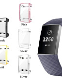 olcso Smartwatch tok-Case Kompatibilitás Fitbit Fitbit Charge 2 Szilikon FitBit