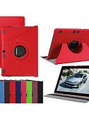 זול מגנים לאייפון-מגן עבור Lenovo Lenovo Tab-X103F עמיד בזעזועים / עם מעמד / אולטרה דק כיסוי מלא אחיד קשיח עור PU