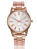 baratos Relógios-Mulheres Relógio Elegante Quartzo Relógio Casual Analógico Clássico - Dourado Prata Rosa