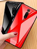 Χαμηλού Κόστους Θήκες / Καλύμματα για Xiaomi-tok Για Xiaomi Xiaomi Mi 9Τ / Xiaomi Mi 9Τ Pro / Redmi K20 Pro Ανθεκτική σε πτώσεις Πίσω Κάλυμμα Μονόχρωμο TPU / Ψημένο γυαλί