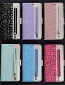 baratos Cases & Capas-Capinha Para Samsung Galaxy A6 (2018) / Galaxy A7(2018) / A5 (2017) Carteira / Porta-Cartão / Com Suporte Capa Proteção Completa Flor PU Leather