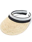 Χαμηλού Κόστους Αξεσουάρ-Άχυρο Καπέλα με Μονόχρωμο 1 Τεμάχιο Causal / Καθημερινά Ρούχα Headpiece